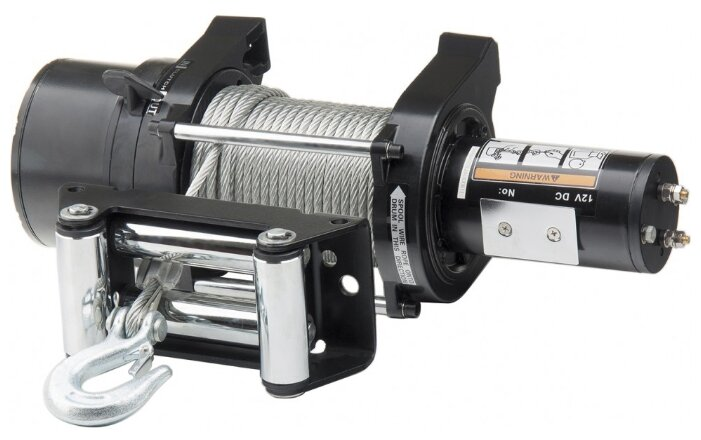Лебедка электрическая Denzel LB-4000 со стальным тросом 28 м