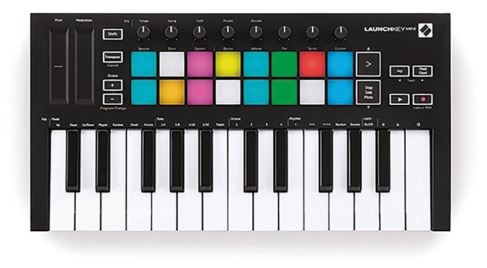 MIDI-клавиатура Novation Launchkey Mini MK3