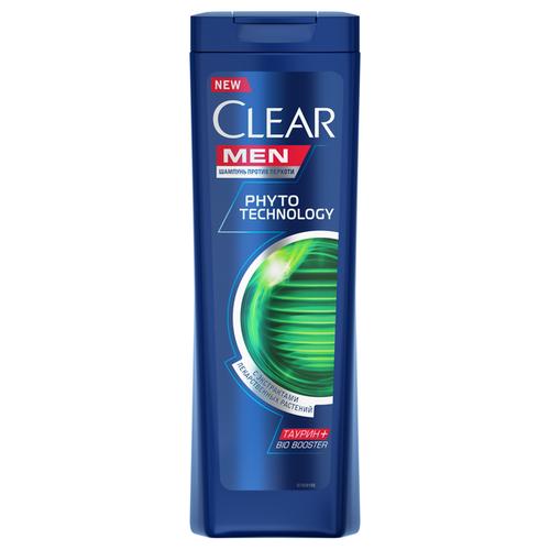 Clear шампунь Phytotechnology против перхоти для мужчин, 400 мл clear шампунь для мужчин 2 в 1