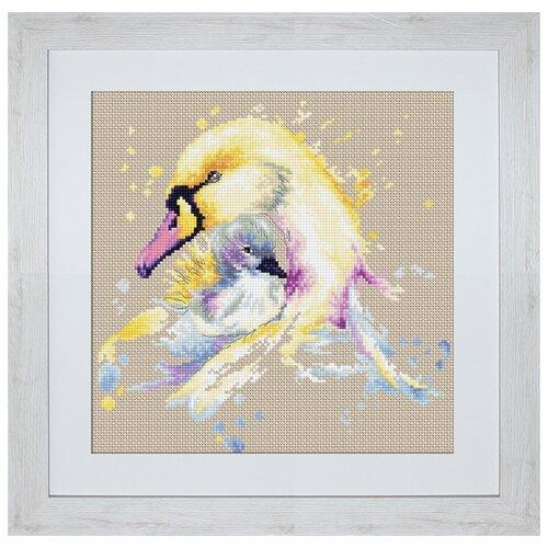 Набор для вышивания Лебеди, Luca-S
