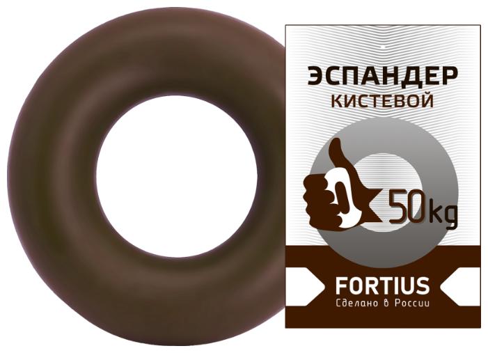 """Купить Эспандер кистевой """"Fortius"""" жесткость 50 кг (коричневый) по низкой цене с доставкой из Яндекс.Маркета"""