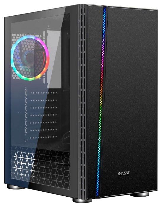 Компьютерный корпус Ginzzu CL200 Black — купить по выгодной цене на Яндекс.Маркете