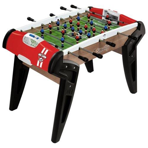 Игровой стол для футбола Smoby 620302 черный/красный