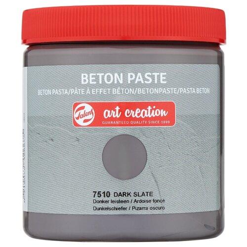 Купить Паста для декорирования с эффектом бетона Art Creation 250мл цв.7510 темный сланец, Royal Talens, Краски