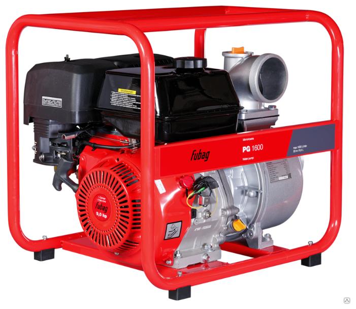 Мотопомпа Fubag PG 1600 (838261) 8.4 л.с. 1600 л/мин