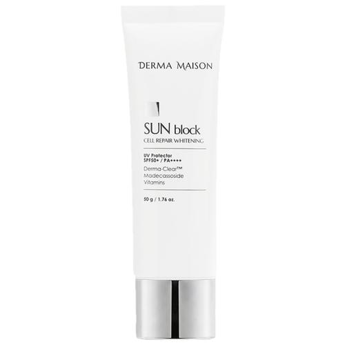 MEDI-PEEL крем Derma Maison Sun Blok Cell Repair Whitening, SPF 50, 50 г, 1 шт