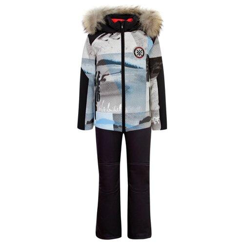 Купить Комплект с брюками Sportalm 88 62 24 442/88 68 01 440 размер 128, серый/синий, Комплекты верхней одежды