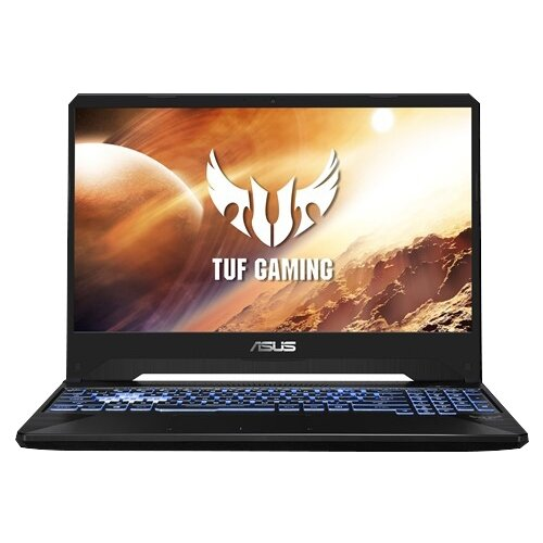 Купить Ноутбук ASUS TUF Gaming FX505DT-BQ140T (AMD Ryzen 7 3750H 2300MHz/15.6 /1920x1080/8GB/512GB SSD/DVD нет/NVIDIA GeForce GTX 1650 4GB/Wi-Fi/Bluetooth/Windows 10 Home) 90NR02D1-M04460 серый