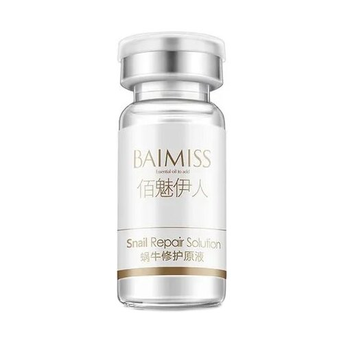 Baimiss Snail Repair Solution Восстанавливающая сыворотка для лица с муцином улитки, 10 мл baimiss 60 page 1