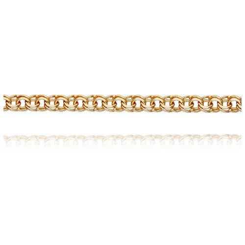 АДАМАС Цепь из золота плетения Гарибальди ЦГРП240СА2-А51, 60 см, 7.03 г
