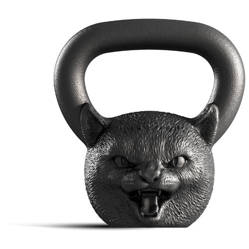 Гиря цельнолитая Iron Head Кошка 8 кг
