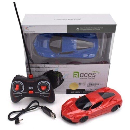 Купить Машина р/у Наша Игрушка Стенолаз, 4 канала, аккумулятор встроенный, USB шнур (926-5), Наша игрушка, Радиоуправляемые игрушки