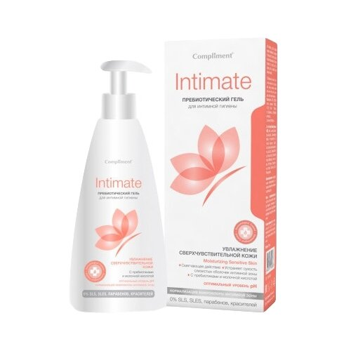 Compliment Гель для интимной гигиены с пребиотиками, 250 мл