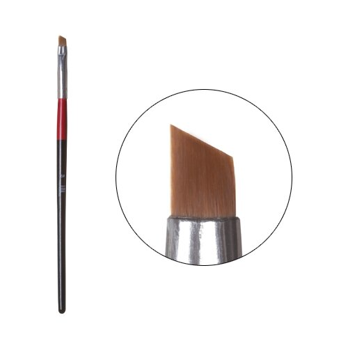 Кисть для китайской росписи скошенная №6 TNL Professional черный