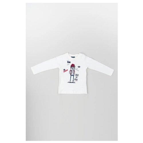 Купить Лонгслив Brums размер 24М (92), белый, Футболки и рубашки