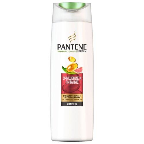 Купить Pantene шампунь Слияние с природой Очищение и питание 400 мл