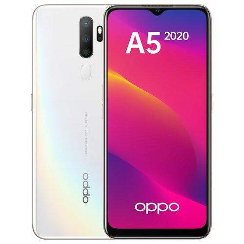Смартфон OPPO A5 (2020) 3/64GB белый смартфон
