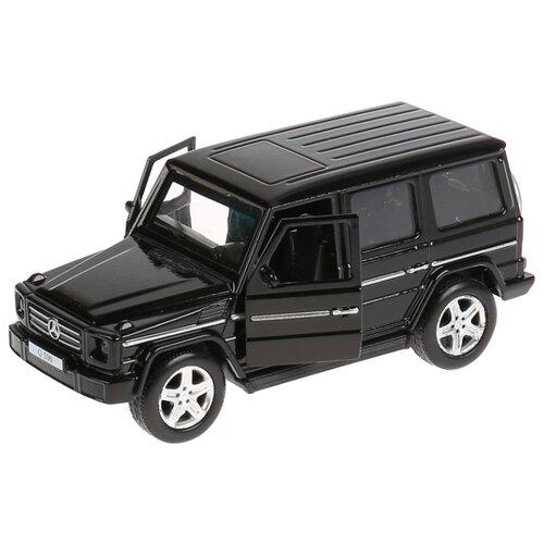 Внедорожник ТЕХНОПАРК Mercedes-Benz G 500 (G-СLASS-BK/SL/BE) 12 см черный внедорожник технопарк renault koleos koleos bu gn sl bk 12 см черный