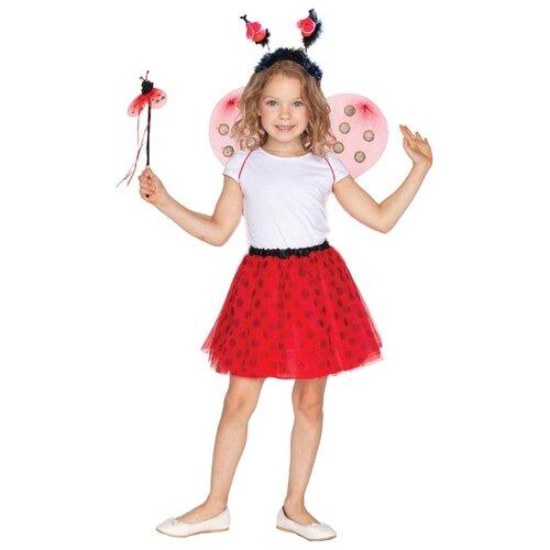 Купить Карнавальный набор ВКостюме.ру Божья коровка (1027643), красный, размер 119, Карнавальные костюмы