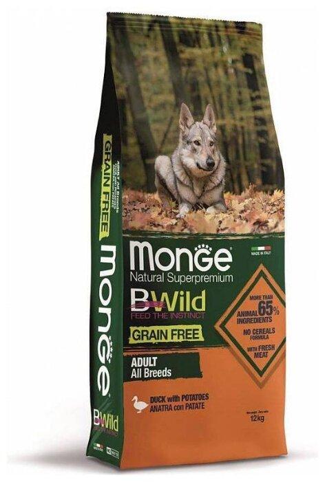 Корм для собак Monge BWILD Feed