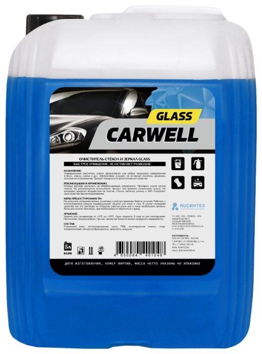 Очиститель для автостёкол Carwell Glass 004557, 5 л