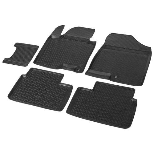 Комплект ковриков RIVAL 12801001 Kia Cee\'d 5 шт. черный