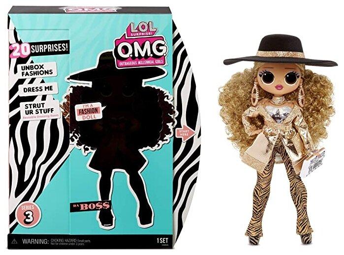 Кукла L.O.L. Surprise OMG 3 Series - Da Boss, 567219 — купить по выгодной цене на Яндекс.Маркете