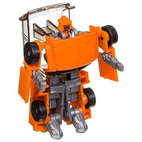 Купить Робот-трансформер BONDIBON Мы роботы, космические машины ВВ3256 оранжевый, Роботы и трансформеры