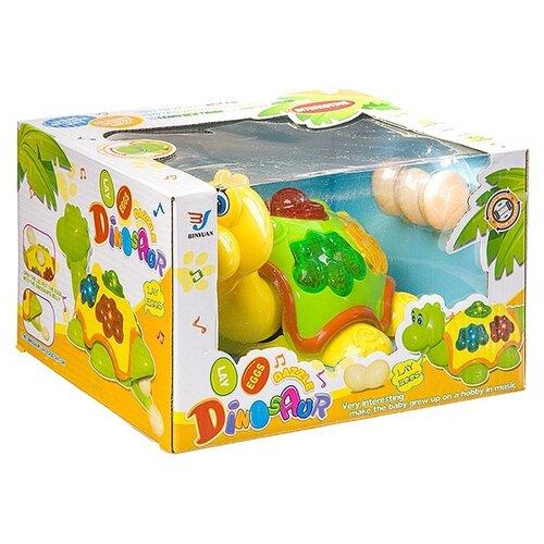 Купить Музыкальная игрушка Гратвест свет и движение, Черепаха, откладывает яйца, коробка, 21, 5*13, 5*18 см (Б93912), Развивающие игрушки
