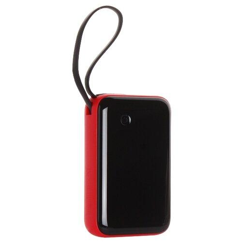 Аккумулятор Baseus Mini S Type-C Cable 10000mAh, черный/красный аккумулятор baseus mini s type c cable 10000mah черный
