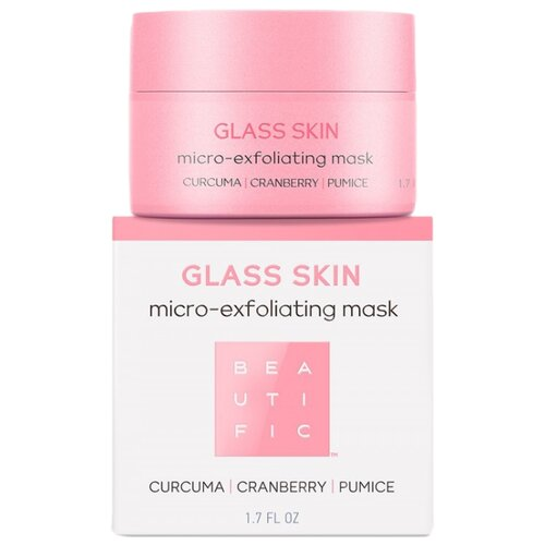 BEAUTIFIC скраб-маска для лица Glass Skin Micro-Exfoliating Mask 50 мл
