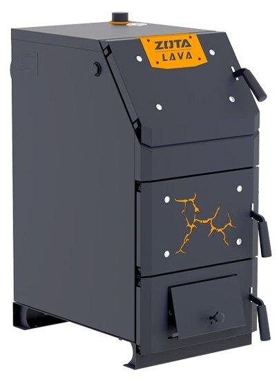 Твердотопливный котел ZOTA Lava 26, 26 кВт, одноконтурный фото 1