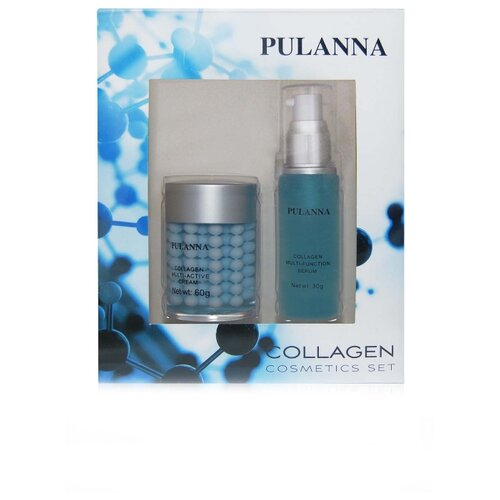 Набор PULANNA Collagen Cosmetics Set набор pulanna grape cosmetics set