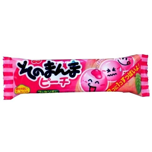 Жевательная резинка Coris Sonomamma Peach Bubble Gum, 14,4 г