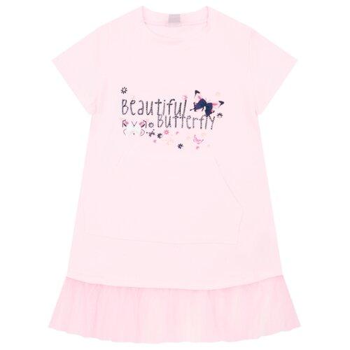 Купить Платье Fun time размер 110, розовый, Платья и сарафаны