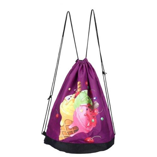 Grizzly Мешок для обуви (OM-001) фиолетовый 12storeez мешок 1637 001 бежевый