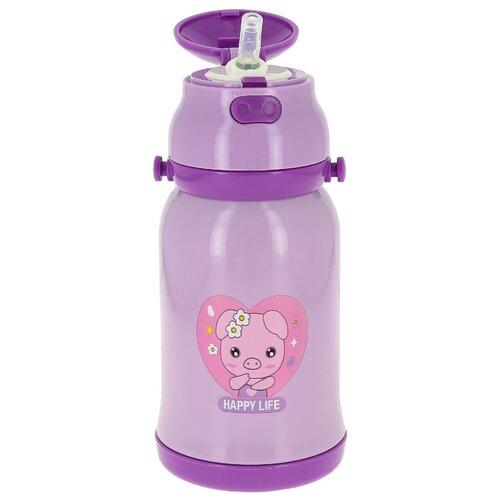 Термос детский Edenberg EB-3522, объем 400 мл, фиолетовый