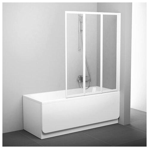 Душевая шторка RAVAK VS3-115 Transparent белый