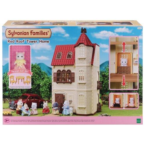 Набор Sylvanian Families Трехэтажный дом с флюгером