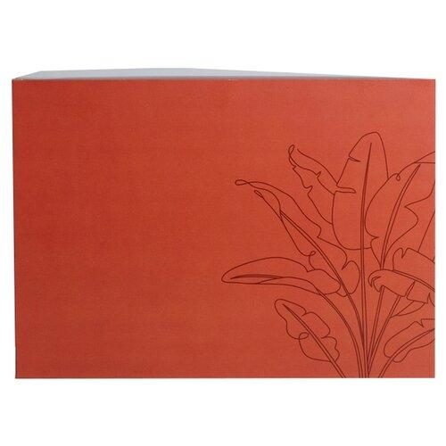 Коробка подарочная Дарите счастье Счастье в простом 25 x 10 x 18 см красный недорого