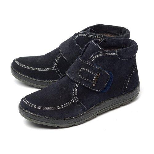 Женские ботинки натуральная замша / шерсть orto алми 40473.0 размер 36 российский