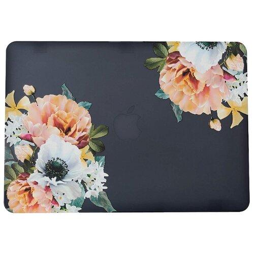 Чехол-накладка i-Blason MacBook Pro 13 2016 A1706/A1708 Flowers flowersСумки и рюкзаки<br>