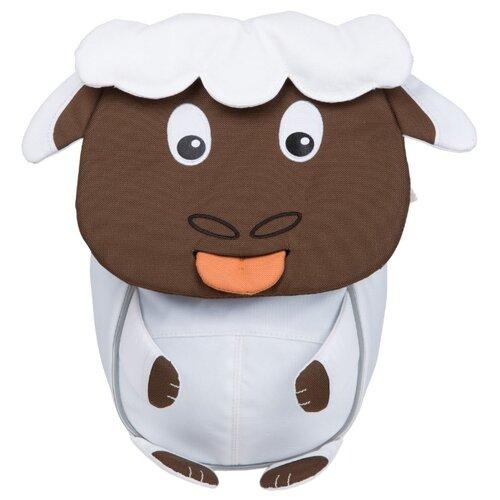Affenzahn Рюкзак Small Friends Stella Sheep, белый/коричневый