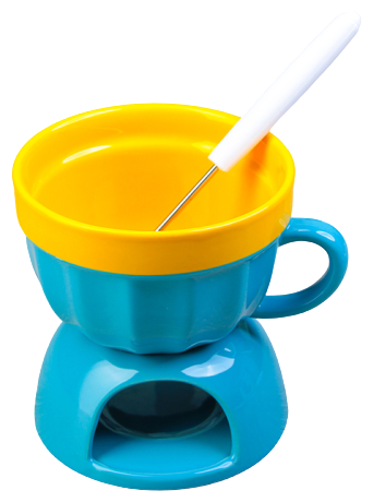 Доляна Набор для фондю Сладкая чаша (2313598) на одну персону