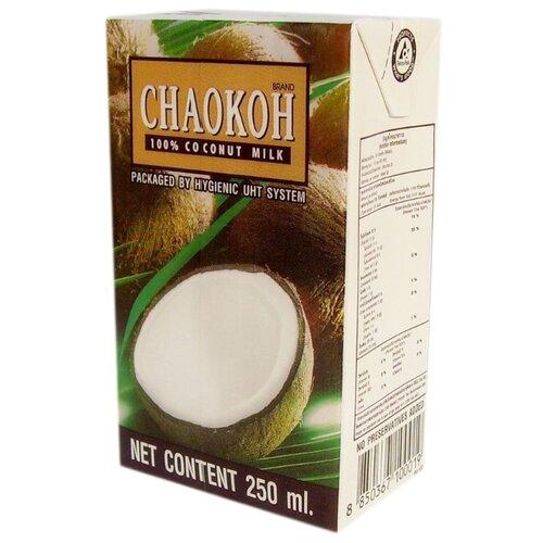 Молоко кокосовое Chaokoh 100% coconut milk 16%, 250 мл