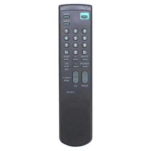 Пульт ДУ Huayu RM-827S для телевизоров Sony KV-2965MT/KV-1405CE/V-2550/KV-1415/KV-1435M3/V-14DK1 черный пульт ду huayu rm 687c для телевизора sony kv m2551 черный