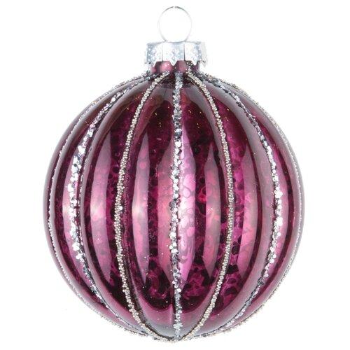Набор шаров KARLSBACH 08522, темно-фиолетовый