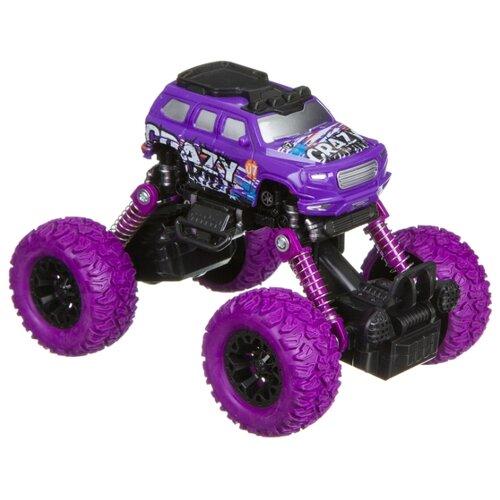 Купить Монстр-трак BONDIBON Парк техники (ВВ4572) фиолетовый, Машинки и техника