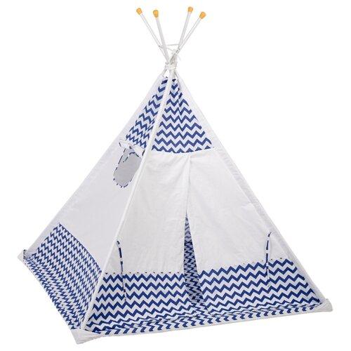 Купить Палатка Polini Зигзаг синий, Игровые домики и палатки