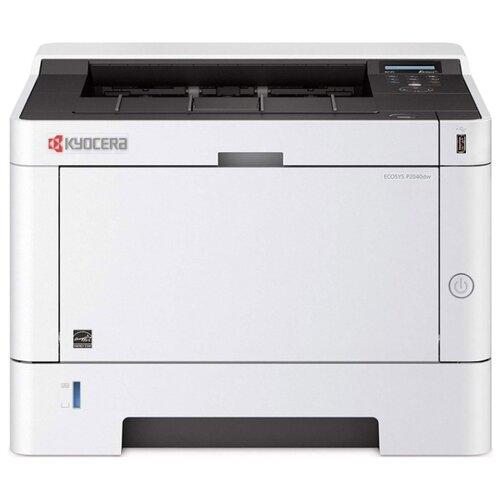 Фото - Принтер KYOCERA ECOSYS P2040dw белый/черный принтер kyocera p2040dw лазерный